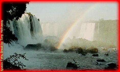 Iguaza Falls, Brazil by Tony Hathaway